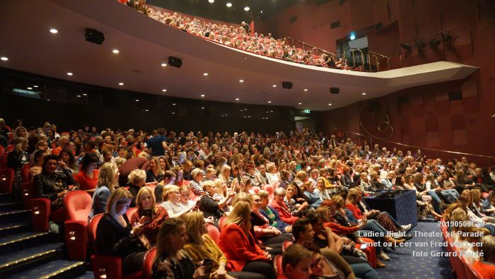 DSC08815- Ladies Night  met Leer van Fred van Leer - Theater aan de Parade - 9mei2019 -  foto GerardMontE web