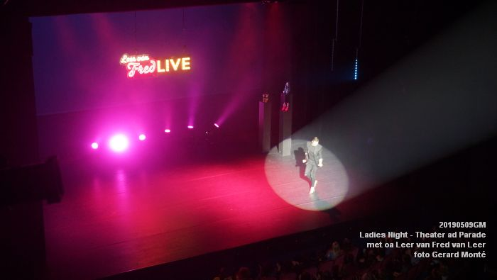 DSC08824- Ladies Night  met Leer van Fred van Leer - Theater aan de Parade - 9mei2019 -  foto GerardMontE web