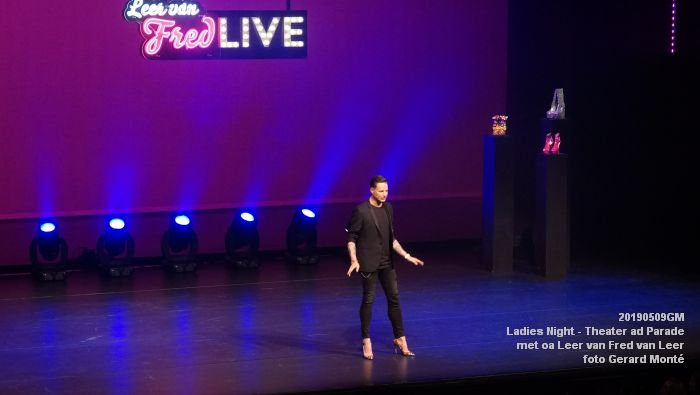 DSC08826- Ladies Night  met Leer van Fred van Leer - Theater aan de Parade - 9mei2019 -  foto GerardMontE web