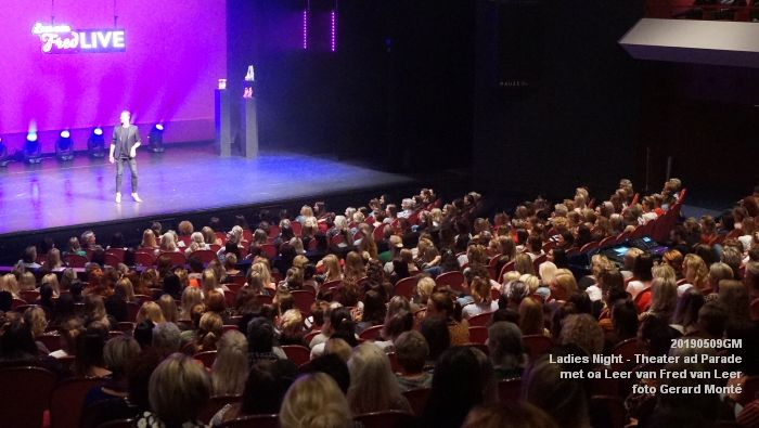 DSC08827- Ladies Night  met Leer van Fred van Leer - Theater aan de Parade - 9mei2019 -  foto GerardMontE web