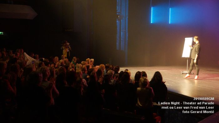DSC08883- Ladies Night  met Leer van Fred van Leer - Theater aan de Parade - 9mei2019 -  foto GerardMontE web