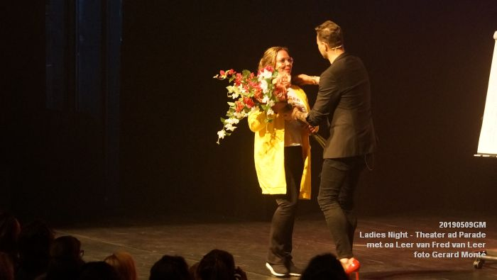 DSC08884- Ladies Night  met Leer van Fred van Leer - Theater aan de Parade - 9mei2019 -  foto GerardMontE web