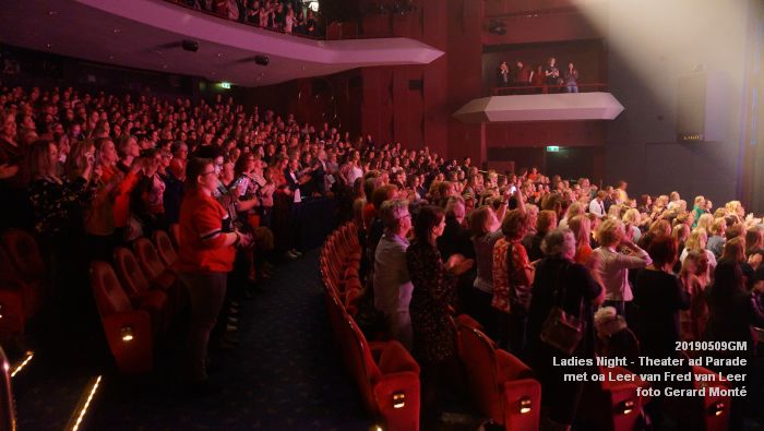 DSC08886- Ladies Night  met Leer van Fred van Leer - Theater aan de Parade - 9mei2019 -  foto GerardMontE web