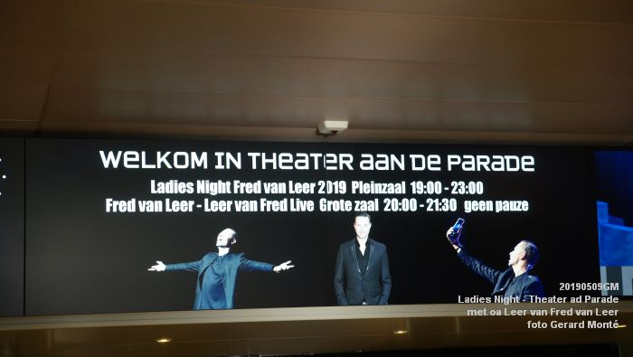 aDSC08782- Ladies Night  met Leer van Fred van Leer - Theater aan de Parade - 9mei2019 -  foto GerardMontE web