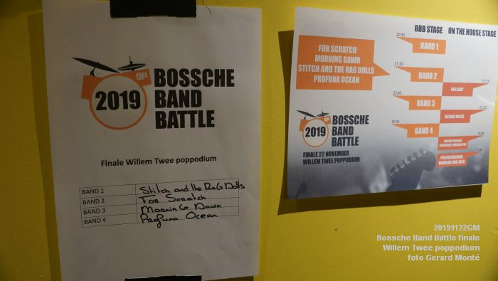 bDSC06045- finale van de Bossche Band Battle 2019  - Willem Twee poppodium - 22nov2019 - foto GerardMontE web
