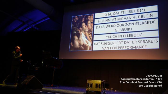 FDSC06680- Koningstheateracademie 1931 -The Funniest Festival Ever - avond - 12sept2020 - foto GerardMontE web