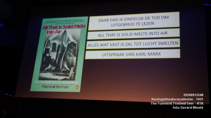 FDSC06683- Koningstheateracademie 1931 -The Funniest Festival Ever - avond - 12sept2020 - foto GerardMontE web
