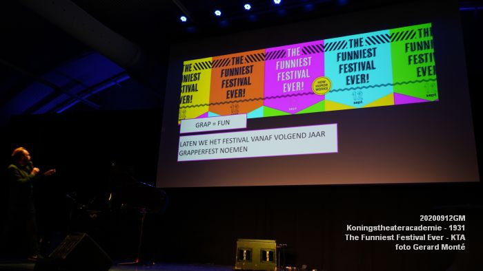 FDSC06687- Koningstheateracademie 1931 -The Funniest Festival Ever - avond - 12sept2020 - foto GerardMontE web